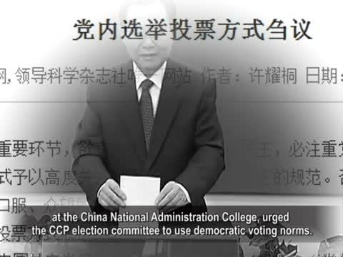 """【禁聞】選舉""""潛規則""""   學者:強迫投票"""