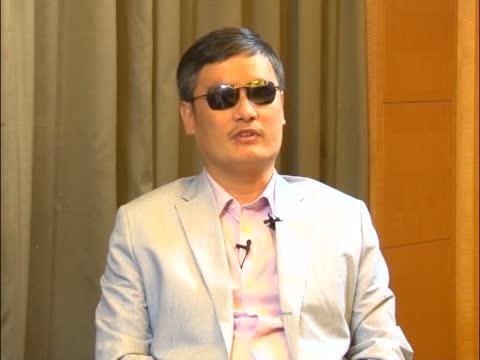 陈光诚狱中经历 谈法轮功学员反迫害
