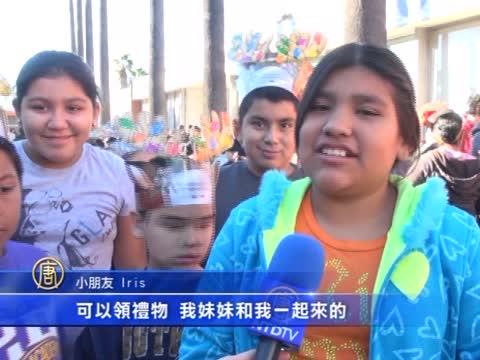 聖誕老人大手筆 1500孩童收到禮物
