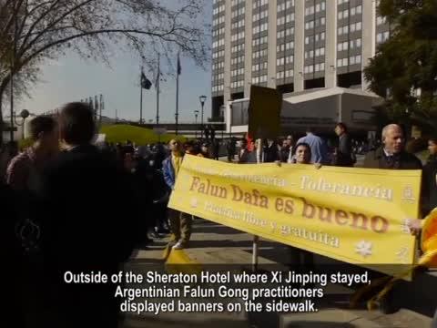 【禁闻】习近平访阿根廷 中使馆一官员被拘