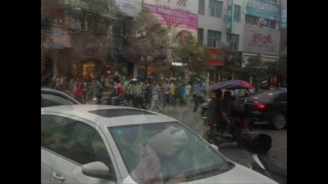 湘軍訓衝突 政府公告不實 學生遊行