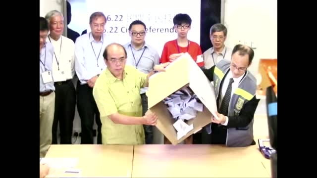 香港公民抗共启动占中