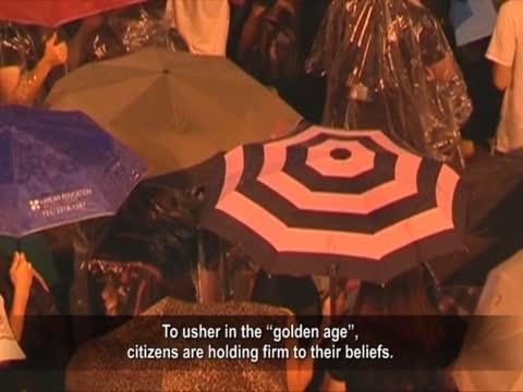 【禁聞】「雨傘革命」溫和堅定 贏高度讚譽